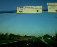 On the way to disneyland
