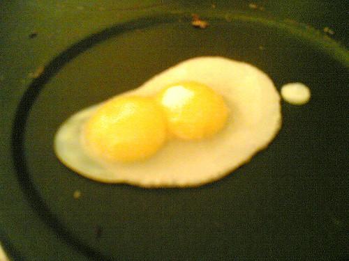 Quail's eggs, sunny-side up