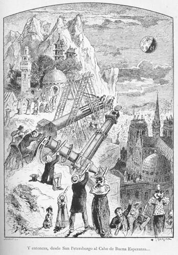 Ver a lua no século XIX