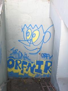 Orfn graffiti, 20th St   by Salim Virji