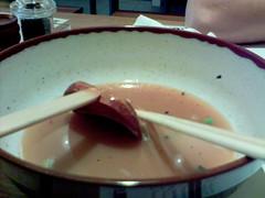 Wagamama - chilli beef ramen