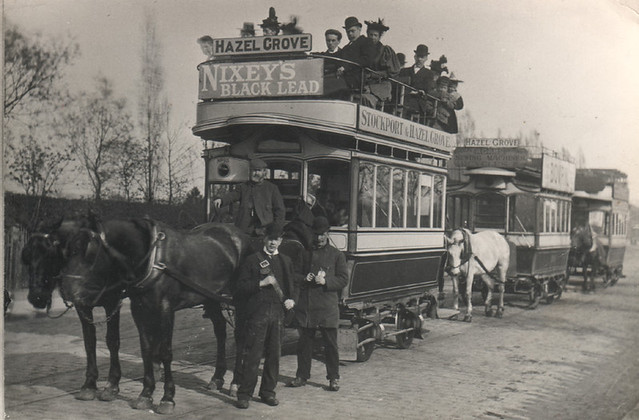 Stockport horse drawn trams