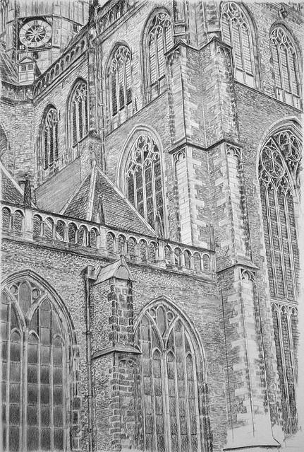 St. Bavo kathedraal Haarlem