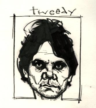 tweedy ink sketch