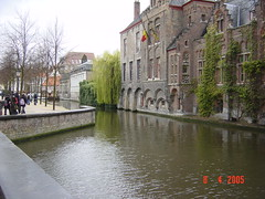 Bruges's canals