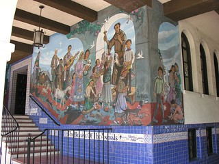 Blessing of the Animals on Olvera Street Mural | by Fat Elvis Records