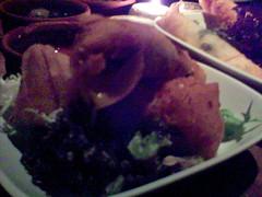 Minced lamb and apricot keftas Boreck