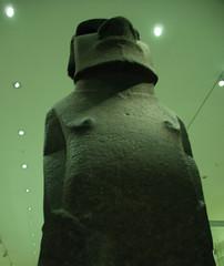 Moai at the British Museum