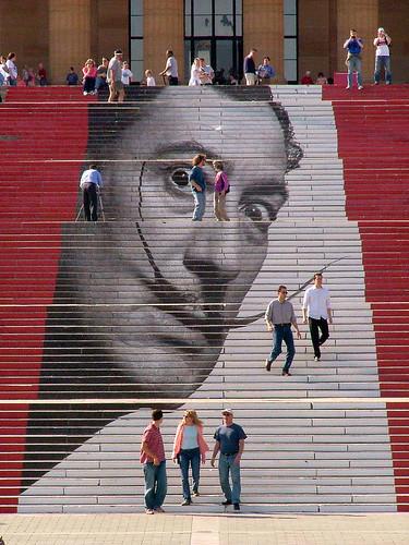 Dali On The Steps