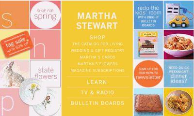Martha Stewart, Santa reina de los negocios