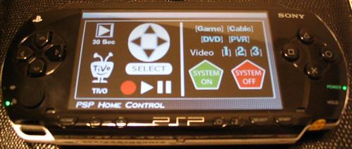 PSP Tivo Control
