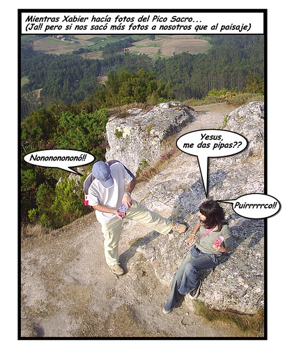 españa me geotagged spain comic galicia santiagodecompostela xabier pipas historieta nohara jesusdq picosacro geo:lat=42807157 geo:lon=844619 conxabi connohara flickr:userid=79139892n00