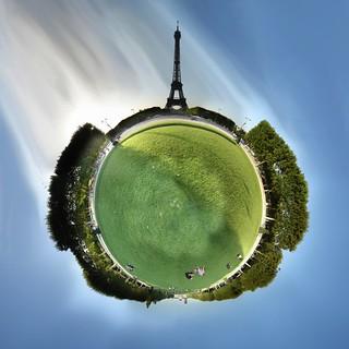 Eiffel planet | by gadl