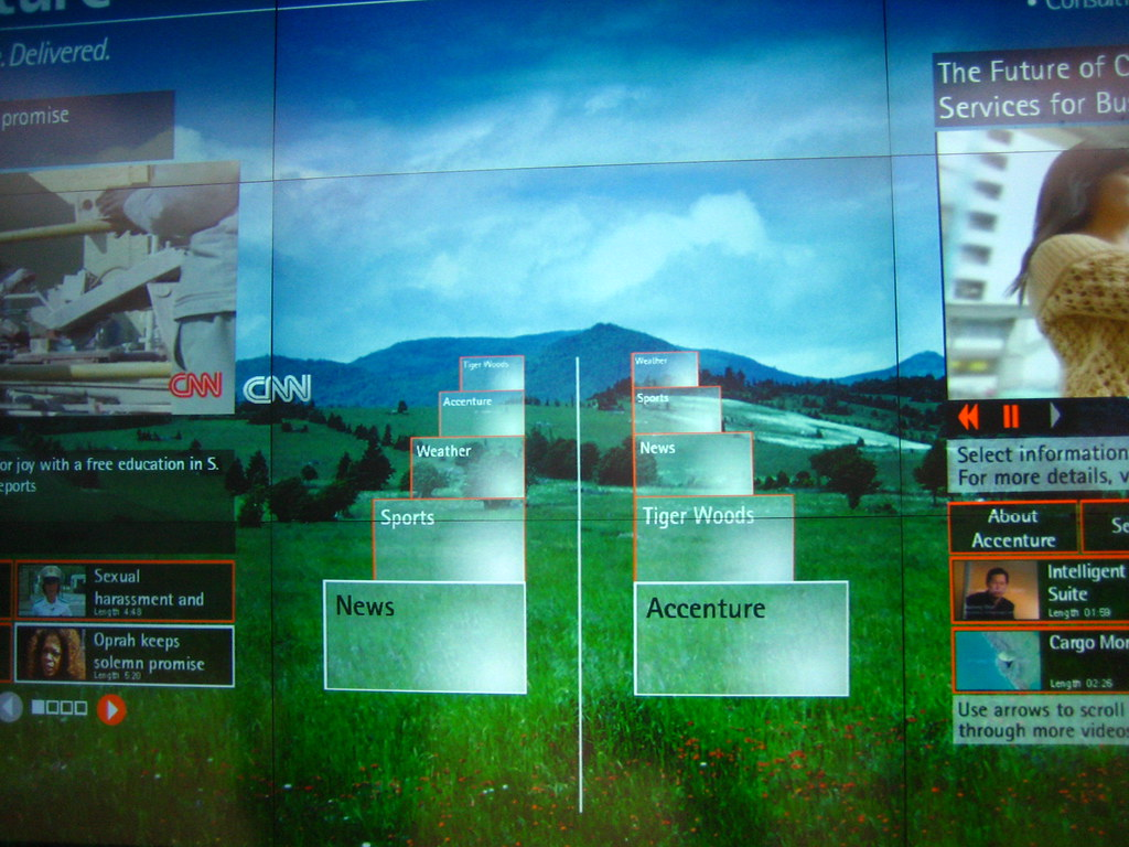 The Accenture Interactive Network at Chicago Airport | Flickr