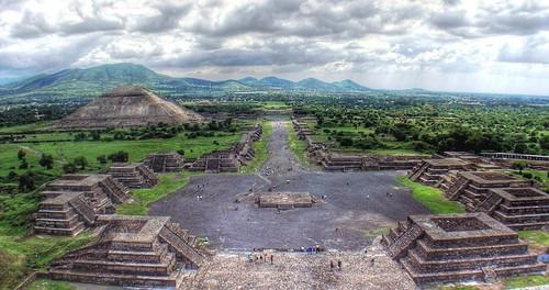 Panorámica de Teotihuacan | by bdebaca