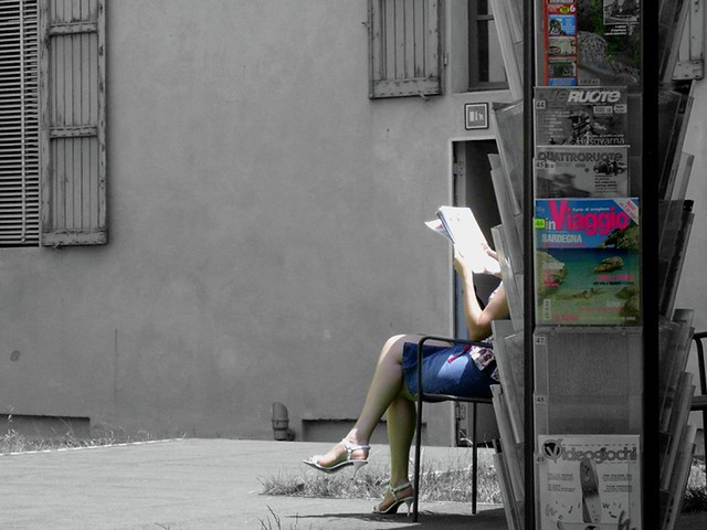 Leggere - to read