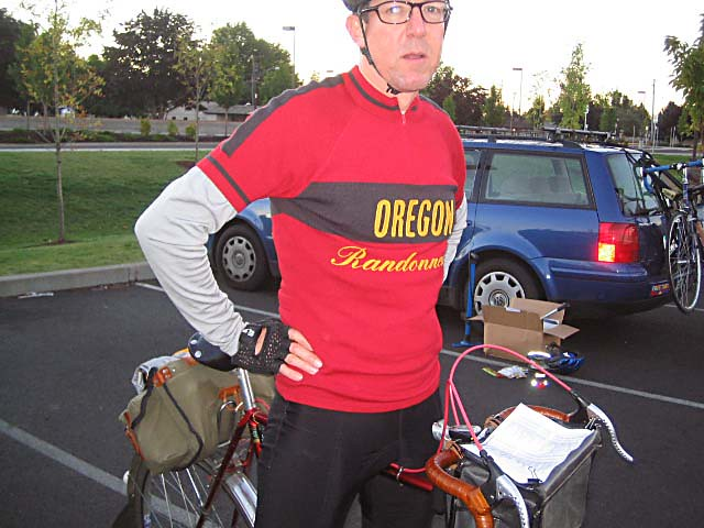 Oregon randonneur jersey