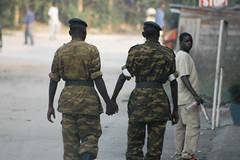 Soldiers Holding Hands | by Geordie Mott