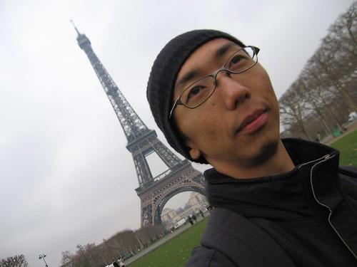 Me, Eiffel tower.