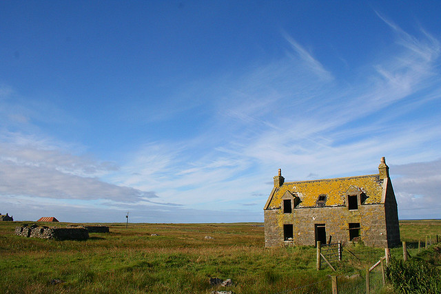 Ruin on Uibhist a Deas (South Uist)