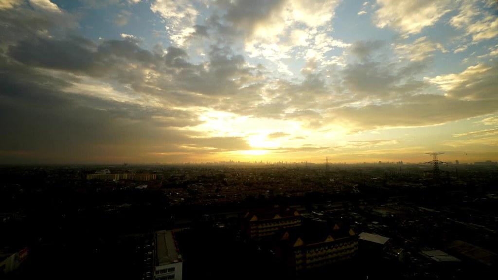 Sunset at Pulo Gebang, East Jakarta