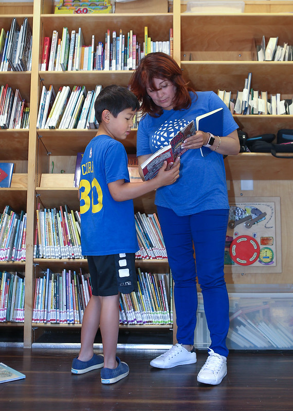 San Mateo County Libraries Bookmobile