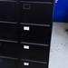 Black 4 door cabinet E80