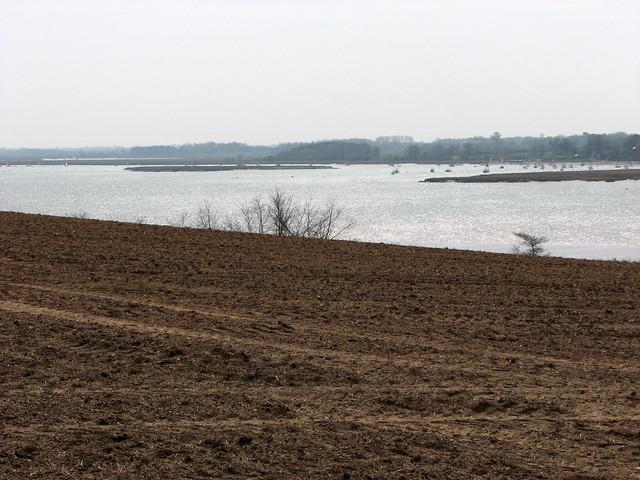 The River Deben near Woodbridge
