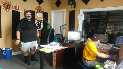 Duane Williams and Ron Phillips in the studio on Day 5 of Spring Membership Drive- 3.17.18