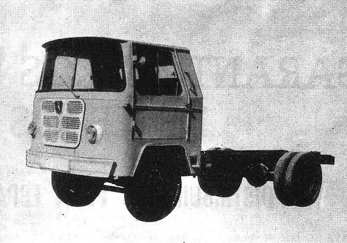 Nazar B 5 Tm 1963 primera cabina