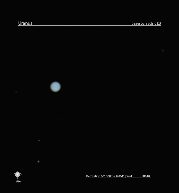 Uranus natural color