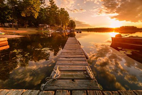 august2016 beach canada cottages lake landscapes lyndhurst ontario singletonlakecampground summer sunrise vacation water