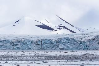 Brepollen Glacier in Hornsund Svalbard ©2016 Lauri Novak