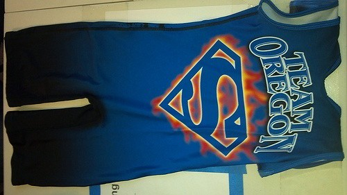 a763a1ab9c3d5 ... Superman Oregon singlet
