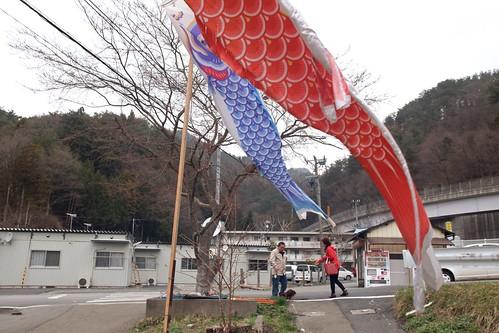 2012年4月18日 釜石市仮設住宅   by shiggyyoshida