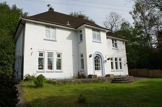 Rosslyn, 6 Glenferness Avenue, Talbot Woods, Bournemouth, Dorset   by Alwyn Ladell