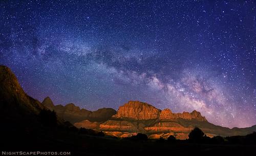 stars bravo nightscape zionnationalpark constellations nightscapes starrynightsky