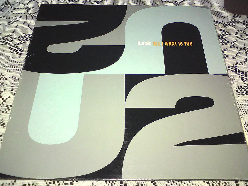 U2 All I Want Is You Single 12