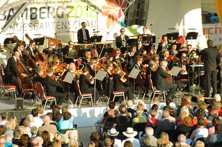 Bamberg Symphony Orchestra Plays Open Air