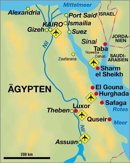 Agypten Karte Land Der Pharaonen Mit Www Morgenland Reisen Flickr