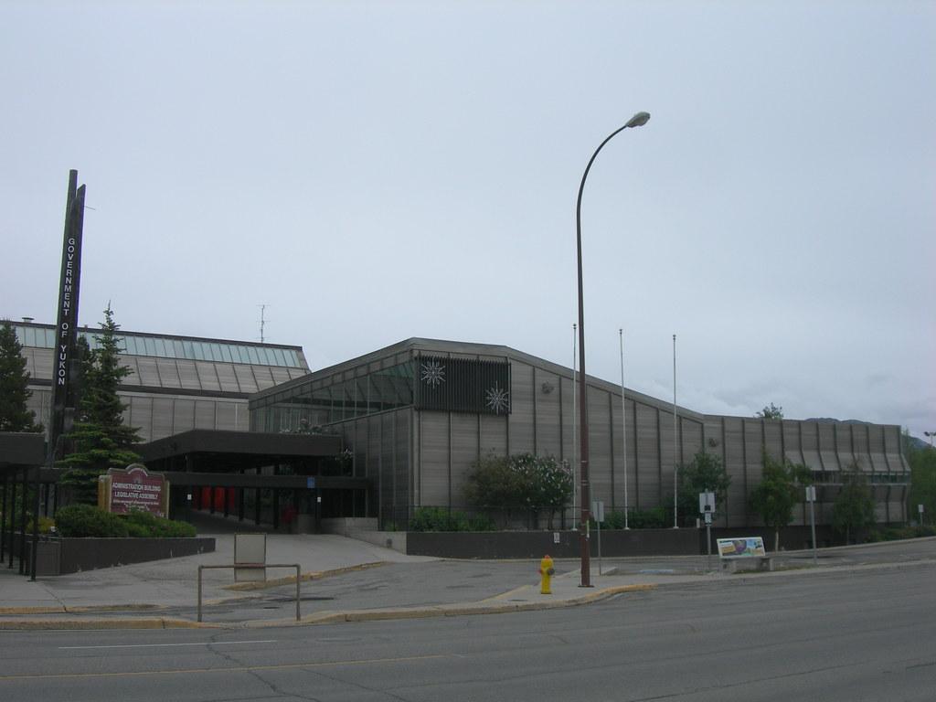 Yukon Legislative Building Whitehorse Yukon The Three Sto Flickr