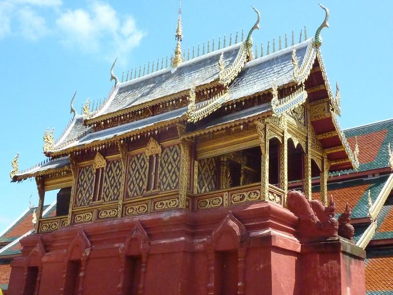 012 Scripture Hall, Wat Phra That Haripunchai, Lamphun