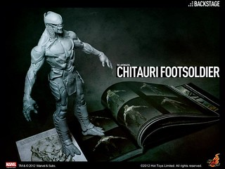The Avengers: 1/6th scale Chitauri Foorsoldier teaser | by marvelousRoland