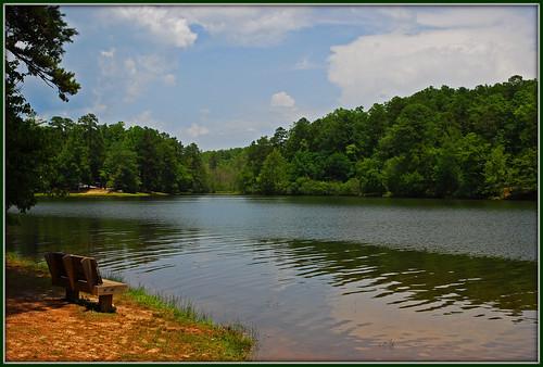 park lake sc bench oconeestatepark nikkor1685vr