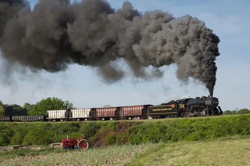 railroad tourism train vintage maryland steam locomotive freight cumberland charter westernmaryland rainfan