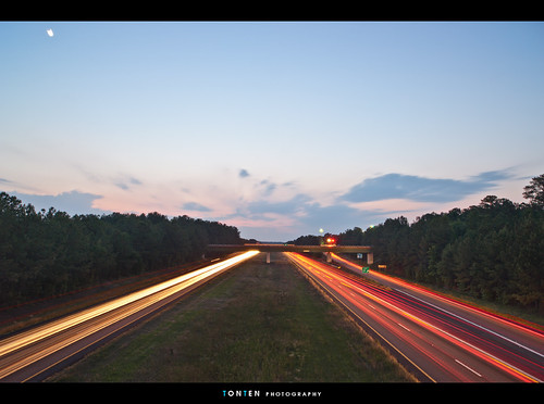 longexposure sunset sky sc columbia freeway i77