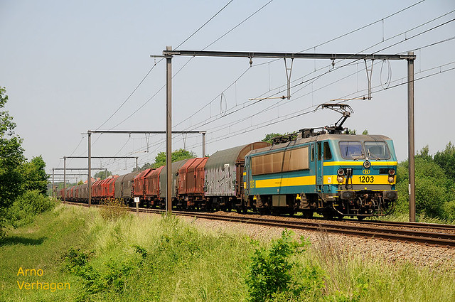 2012. NMBS 1203 te Linkhout