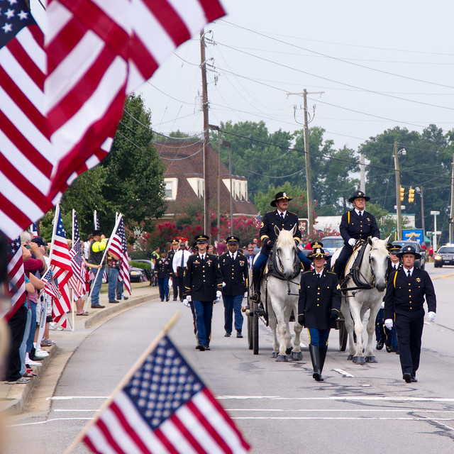 Funeral Procession for Lt. Rawl