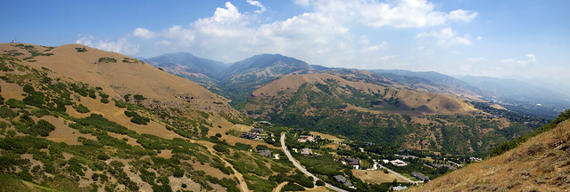 Near Ensign Peak - Panorama - Salt Lake City, Utah