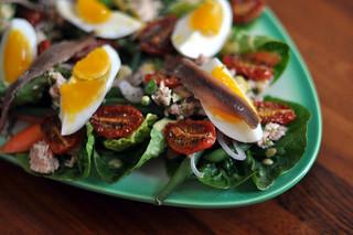 Salade niçoise   by cyclonebill